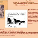 A proposito del Centro Donna di Livorno
